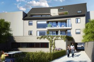 EPB appartementen met kantoor 3D achter