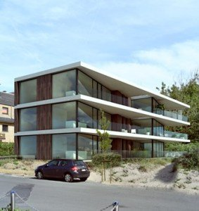 Appartement oververhitting glas 3D epb