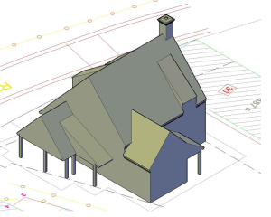3D nieuwe woning