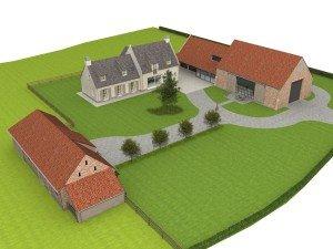 Landelijke nieuwbouwwoning E54