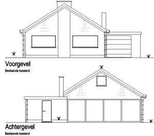 EPB berekening van een bungalow extra verdieping