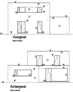 EPB berekening van een bungalow met extra verdieping