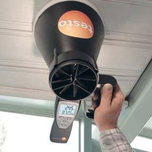 ventilatieverslaggever - Meting ventilatiedebieten in de ventilatieverslaggeving