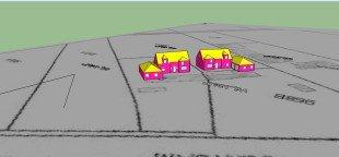 EPB voor Twee vrijstaande woningen 3D