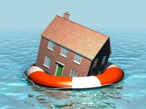 O-peil overstromingsgebied