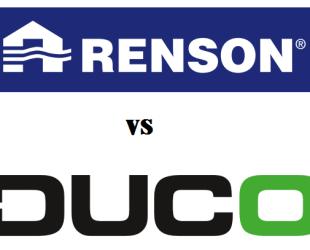 Renson vs Duco - MijnEPB
