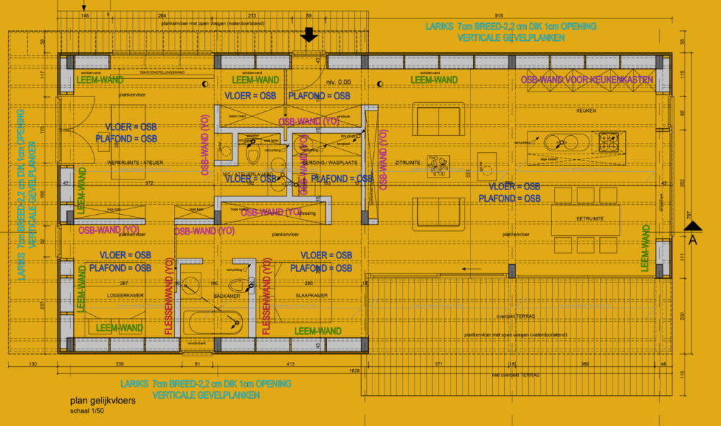 Strobouw plan