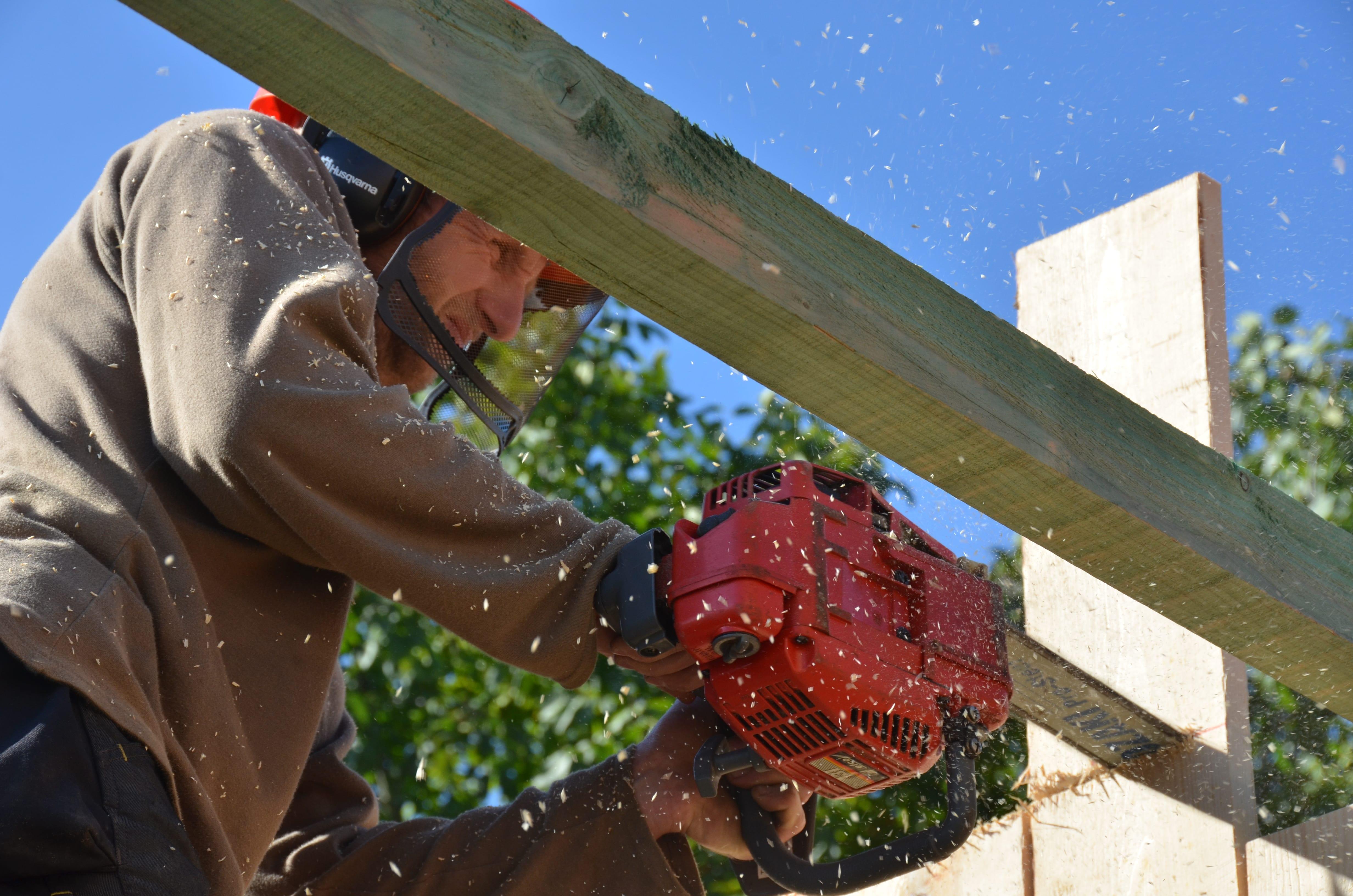 Strobouw rubouw houtskelet