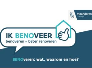 Ik Benoveer = beter renoveren met MijnEPB - BEN - EPB