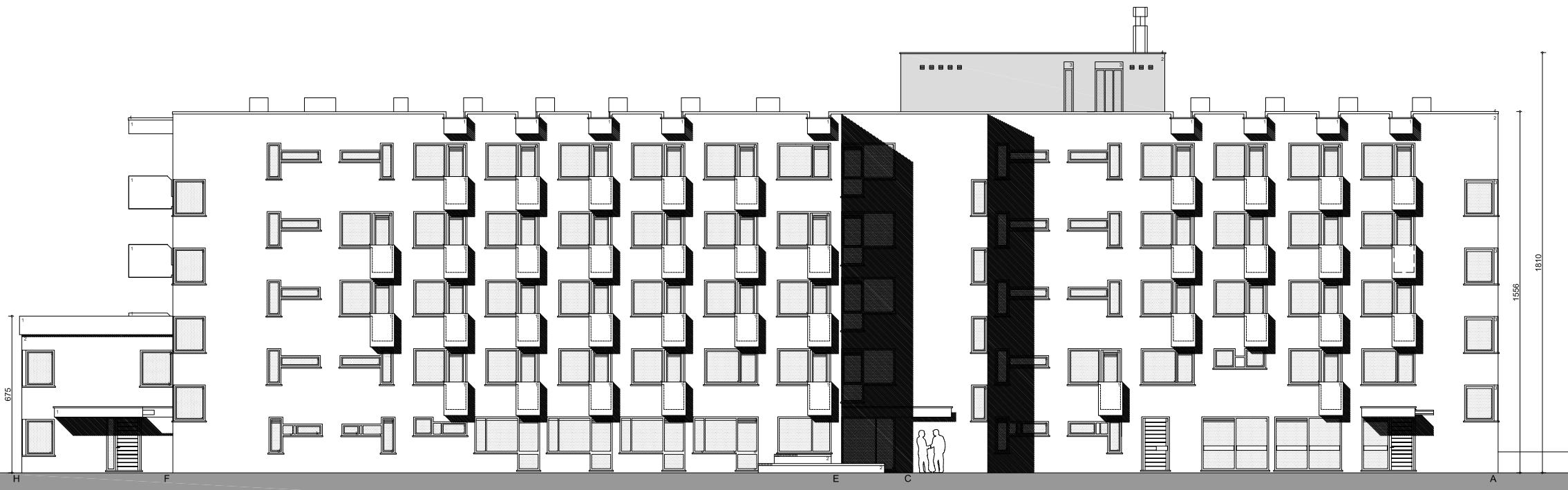 EPB berekening van een hotel met 64 kamers