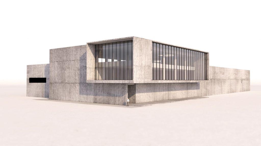 Kantoorgebouw 3D - EPB studie berekend door MijnEPB Evolis