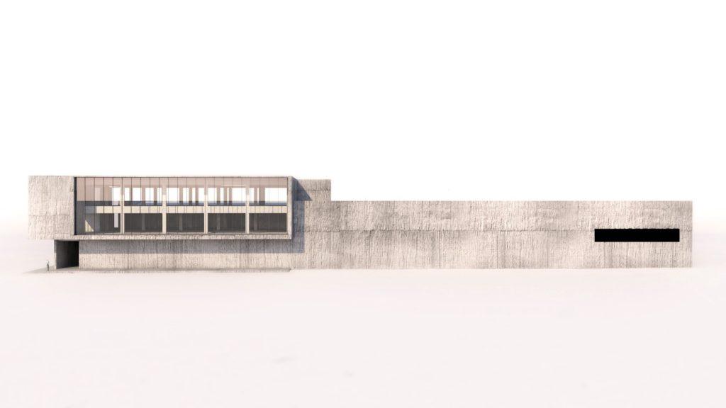 Kantoorgebouw lang - EPB studie berekend door MijnEPB Evolis